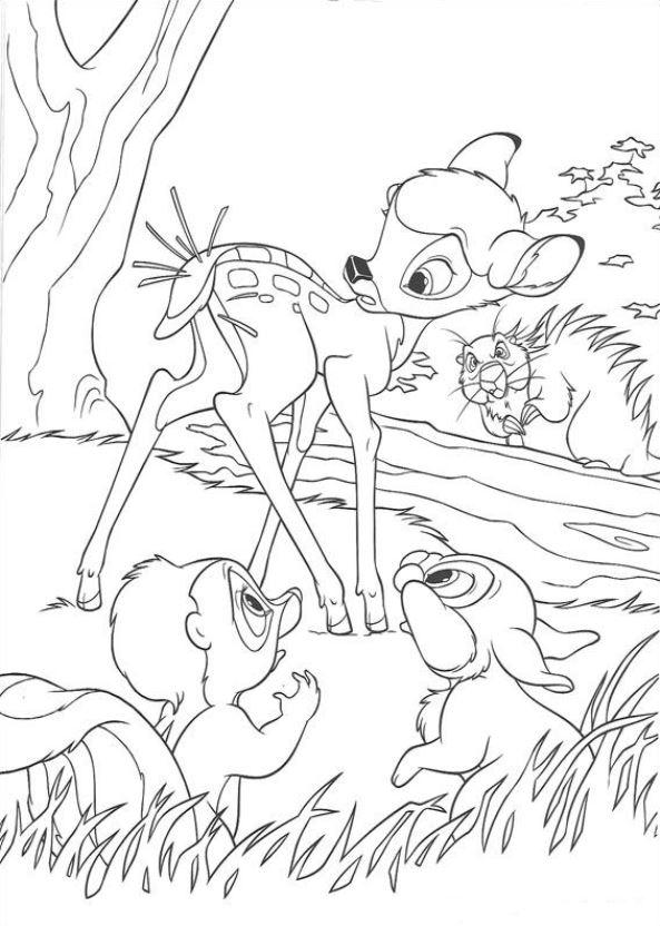 Bambi 2 ausmalbilder