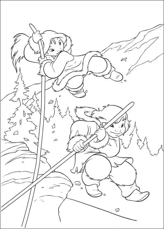 Barenbruder 2 ausmalbilder