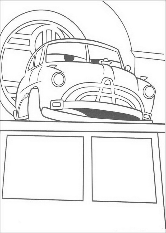 Cars Ausmalbilder Animaatjesde