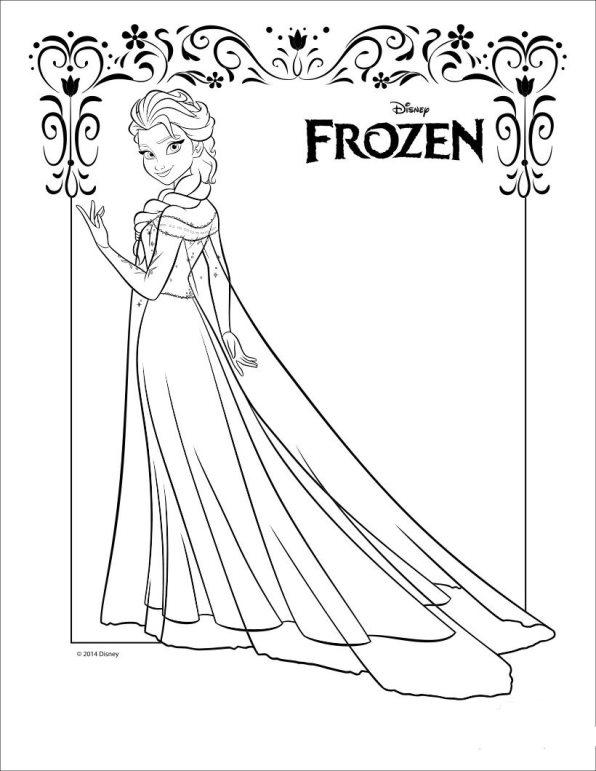 Ausmalbilder Disney Elsa Finden Sie Frei
