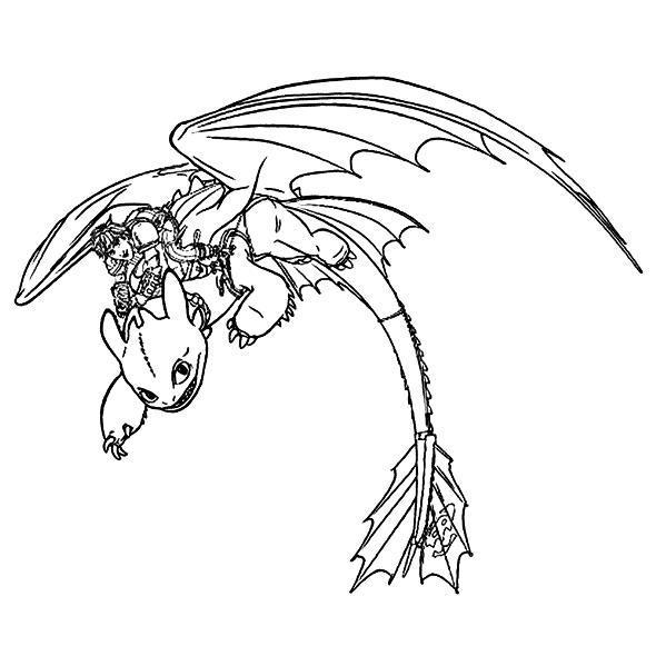 Drachenzahmen Leicht Gemacht 2 Ausmalbilder Animaatjes De