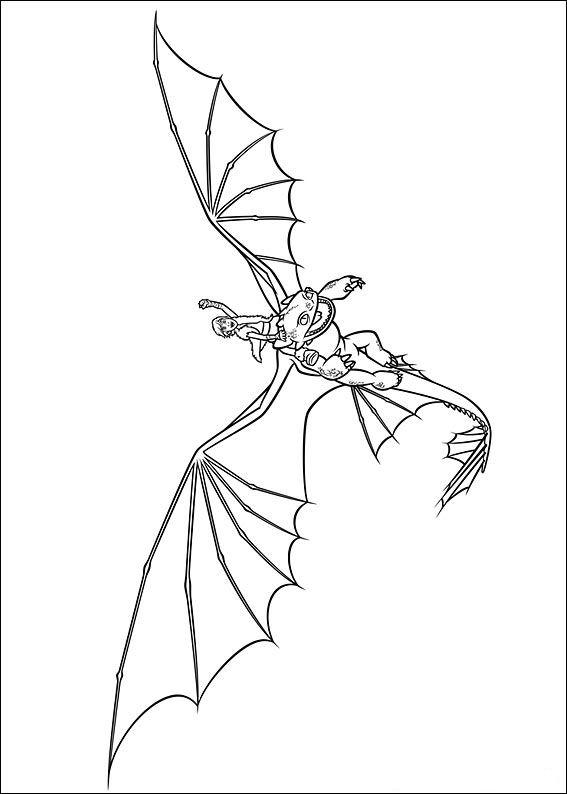 Drachenzahmen leicht gemacht ausmalbilder