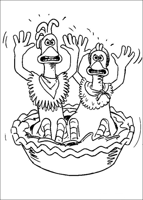 Hennen rennen