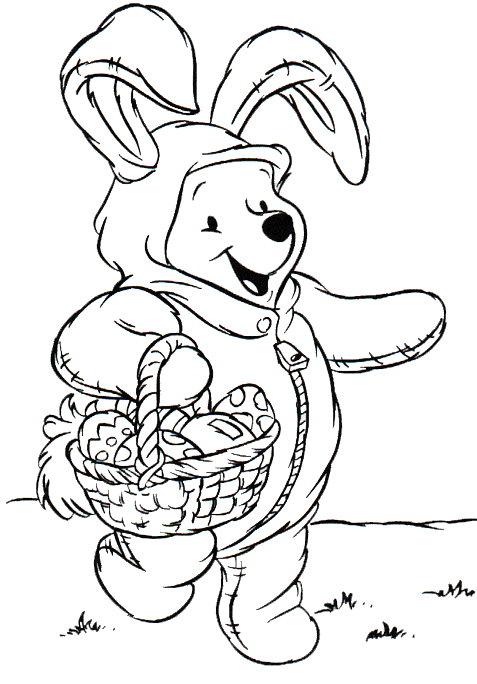 Ostern mit disney ausmalbilder