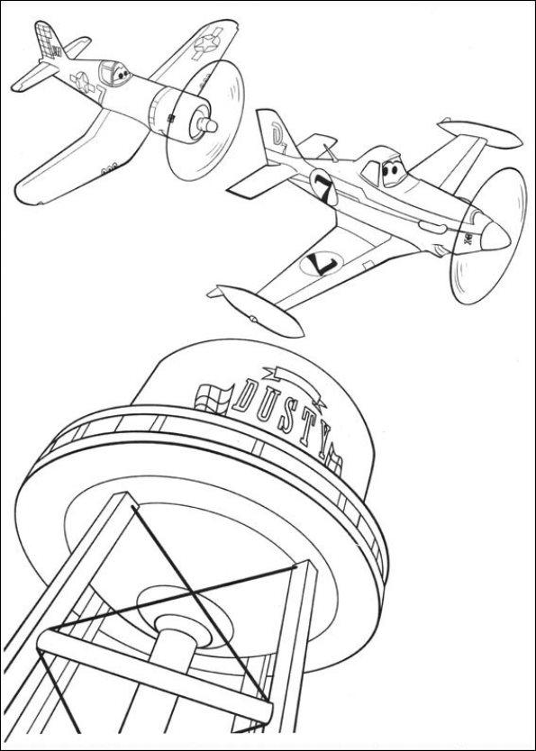 Malvorlage Planes 2 Ausmalbilder Zdb9w