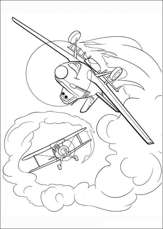 Malvorlage Planes Ausmalbilder Wz8b7