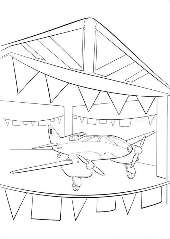 Planes Ausmalbilder Animaatjes De