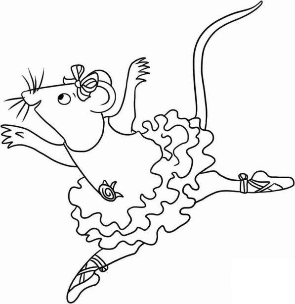 Angelina Ballerina Ausmalbilder Animaatjes De