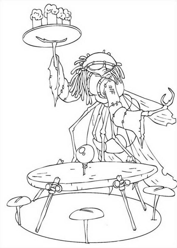 Arthur und die minimoys ausmalbilder