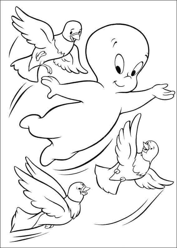 Casper ausmalbilder