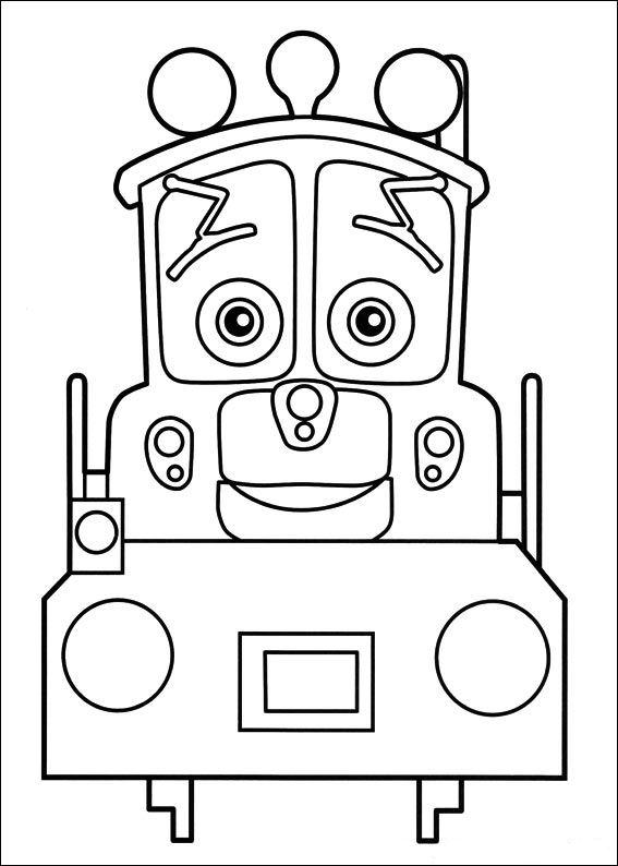 Chuggington die loks sind los Ausmalbilder   Animaatjes.de