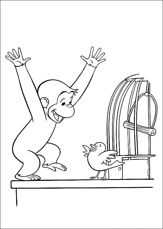 Malvorlage Coco Der Neugierige Affe Ausmalbilder Fdsxo