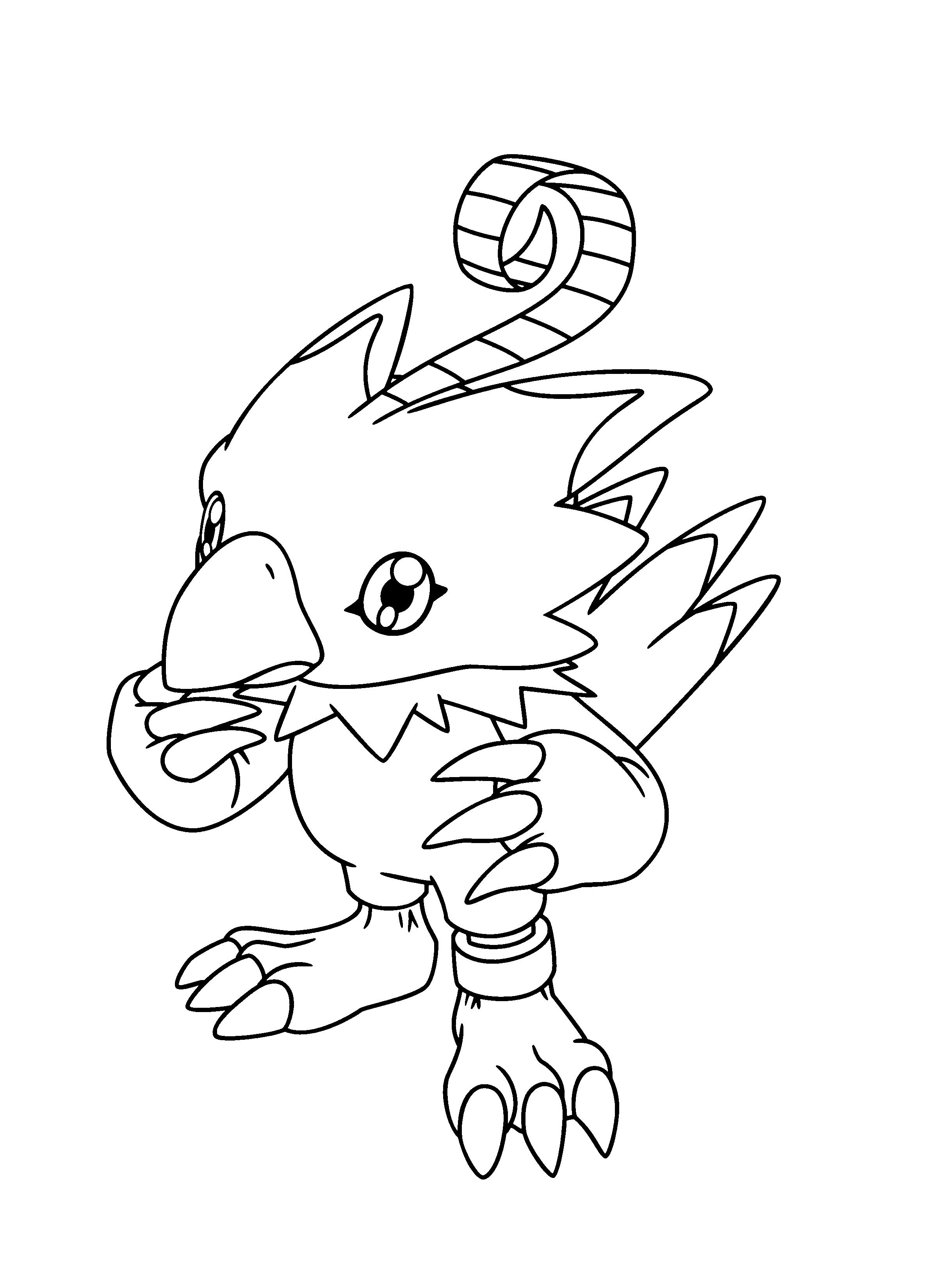 Malvorlage Digimon Malvorlagen 123