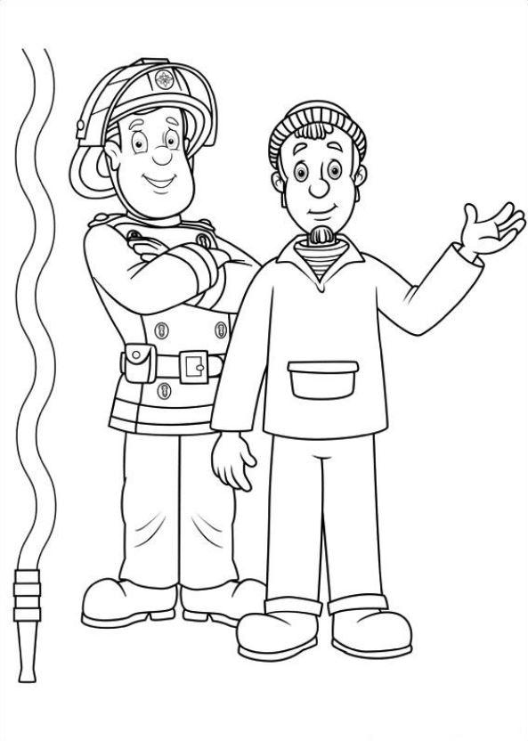 Feuerwehrmann Sam Ausmalbilder Animaatjes De