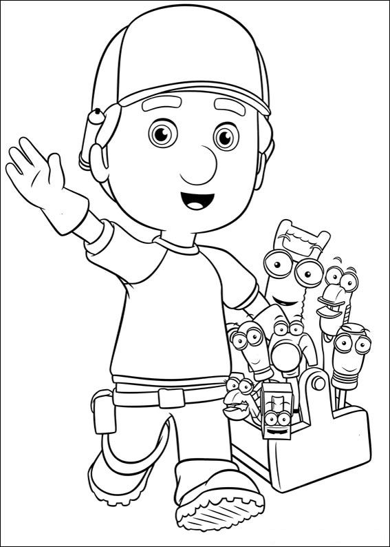 Wunderbar Handy Manny Malvorlagen Fotos - Entry Level Resume ...
