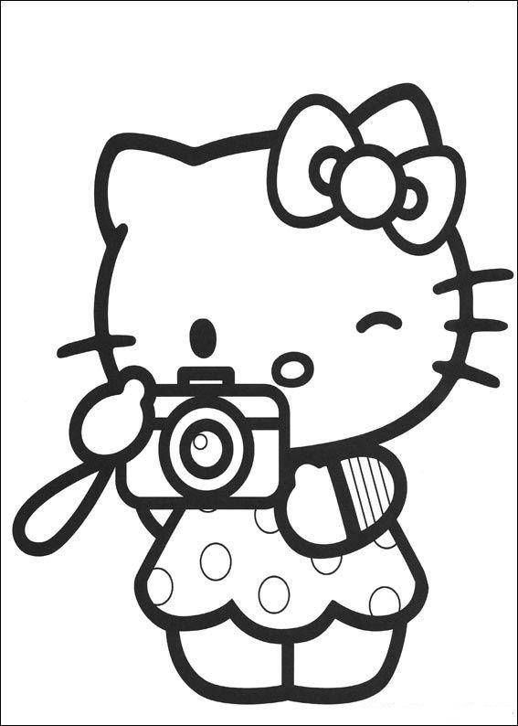 Malvorlage - Hello kitty malvorlagen 4