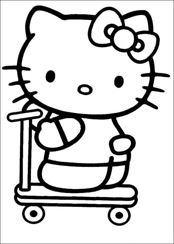 Hello kitty Ausmalbilder | Animaatjes.de