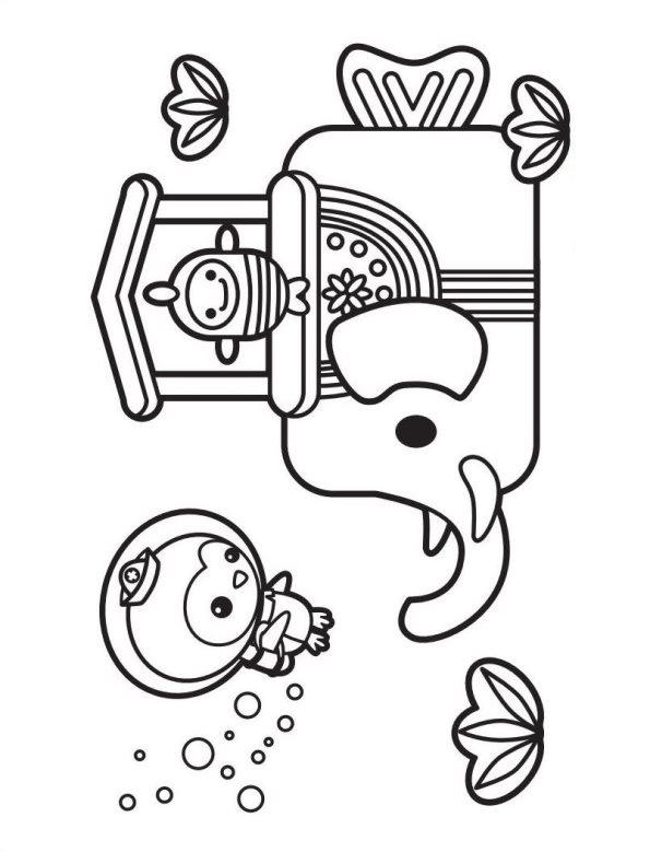 Oktonauten ausmalbilder