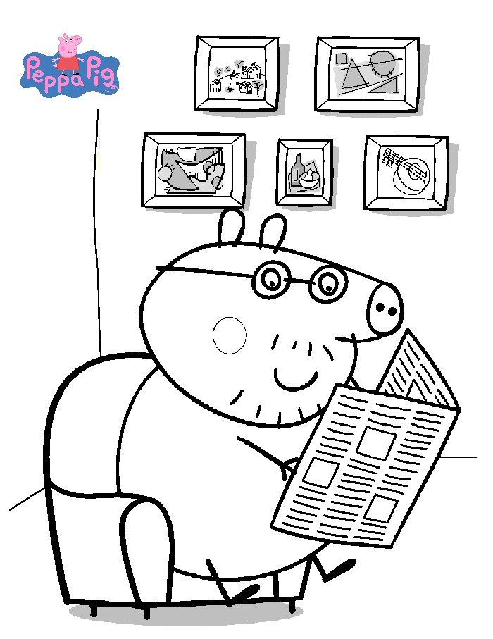 Peppa wutz ausmalbilder