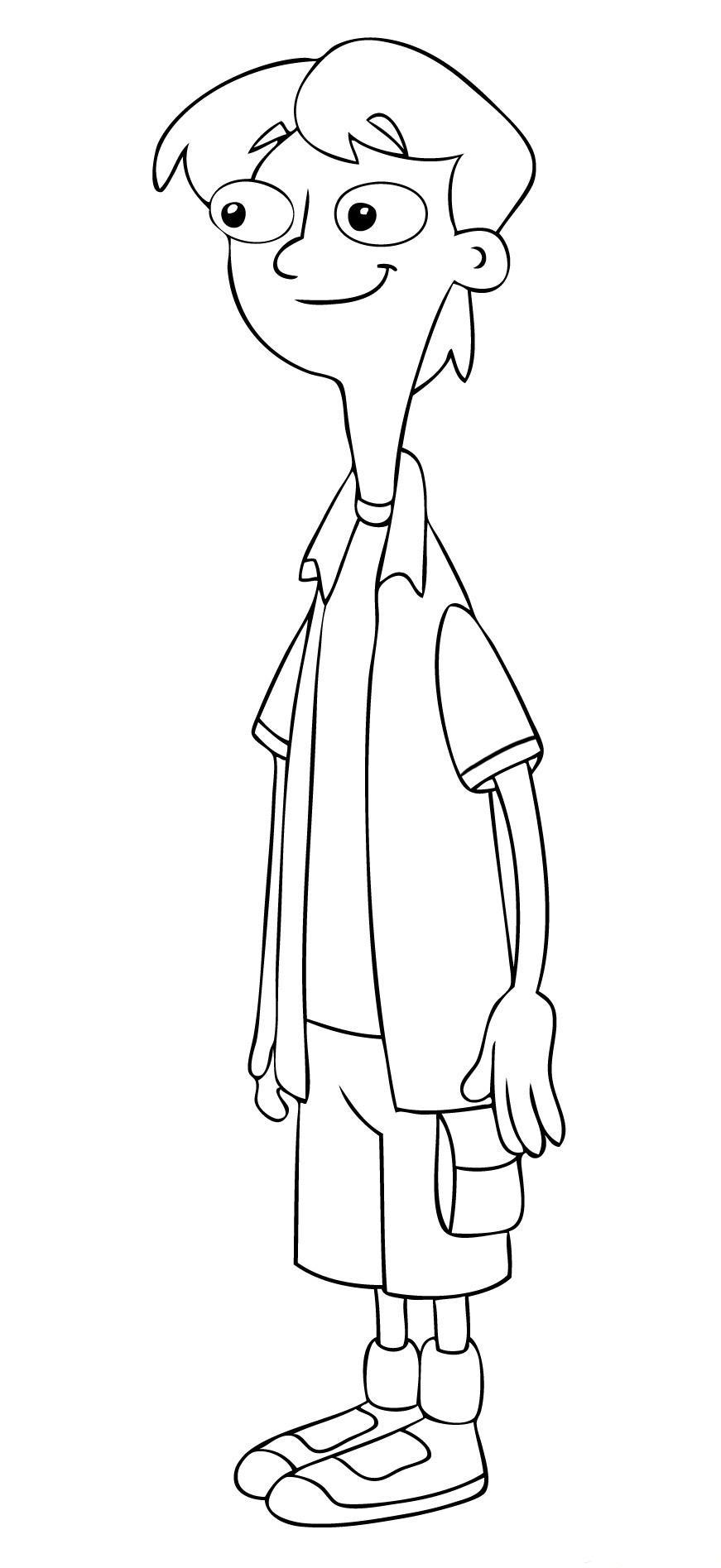 Phineas und ferb ausmalbilder