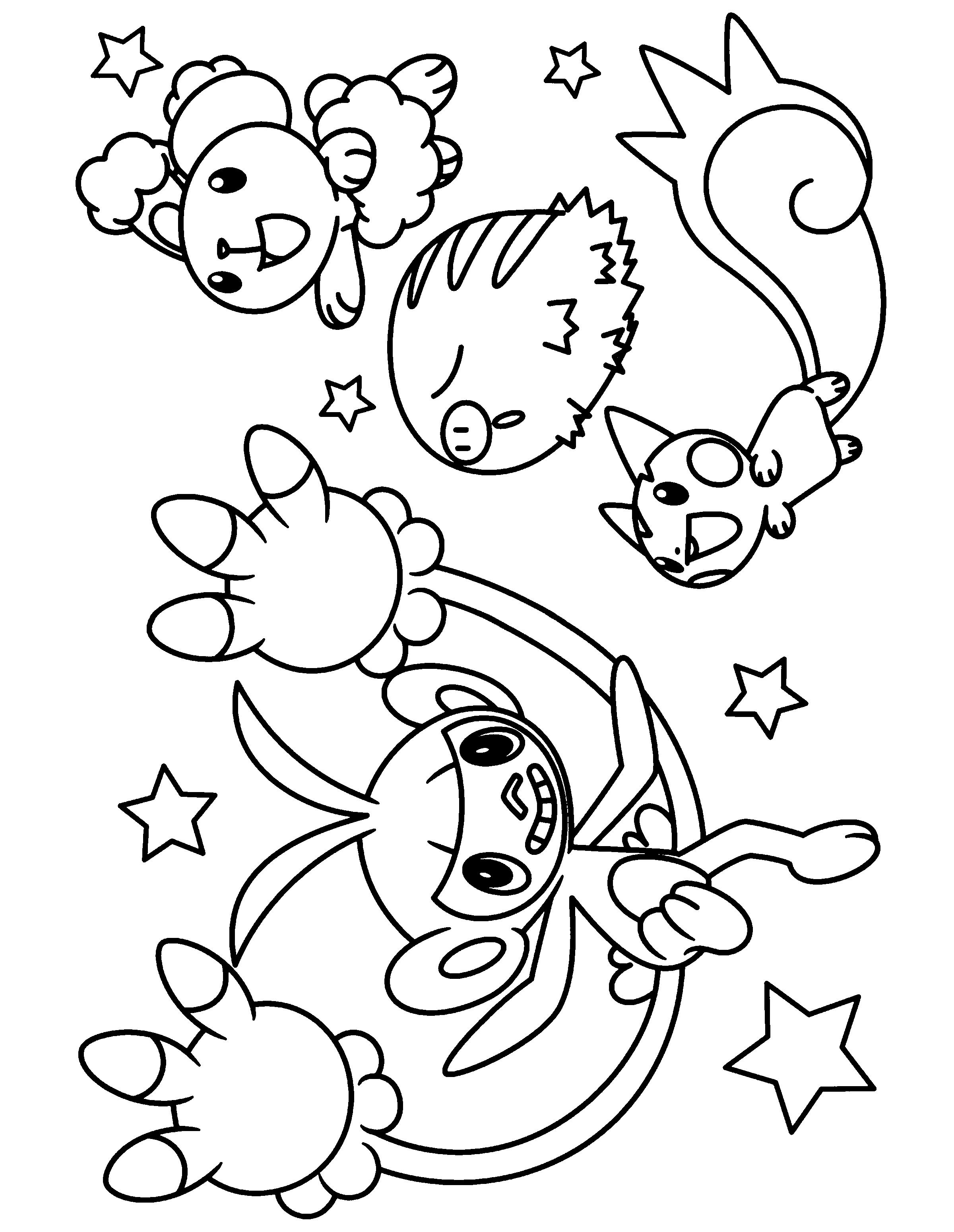 Pokemon diamond pearl ausmalbilder
