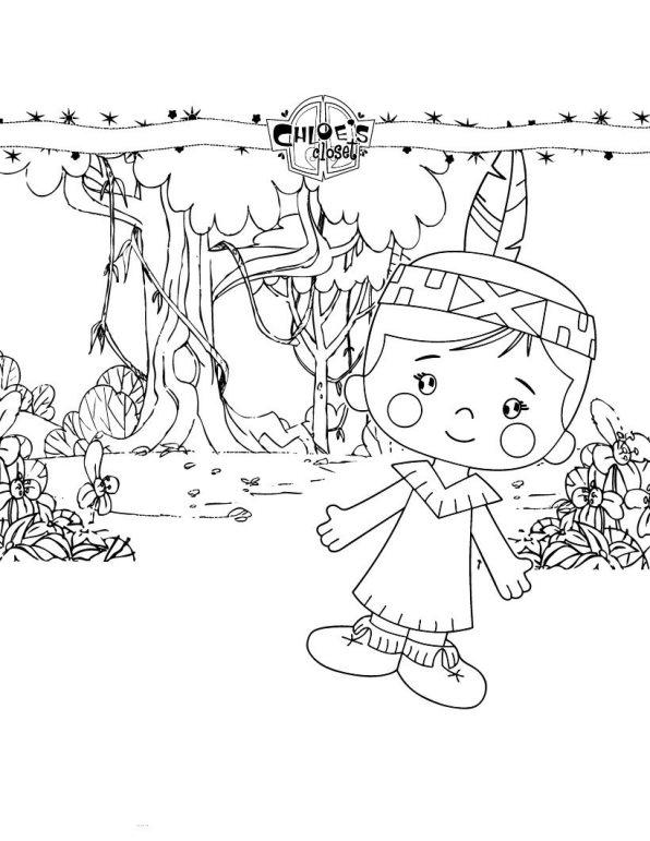Zoes zauberschrank ausmalbilder