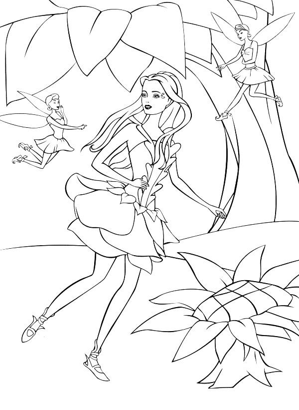Barbie fairytopia ausmalbilder