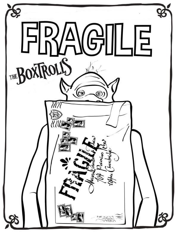 Die boxtrolls ausmalbilder