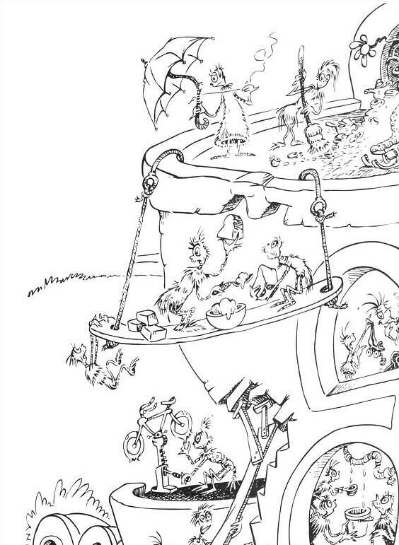 Horton ausmalbilder