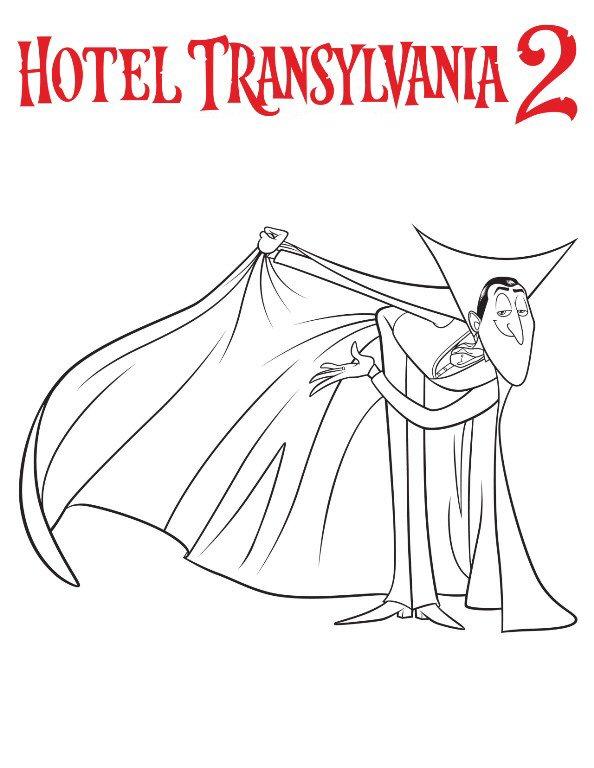 Hotel transsilvanien 2 ausmalbilder