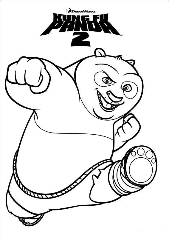 malvorlage  kung fu panda 2 ausmalbilder hwls6