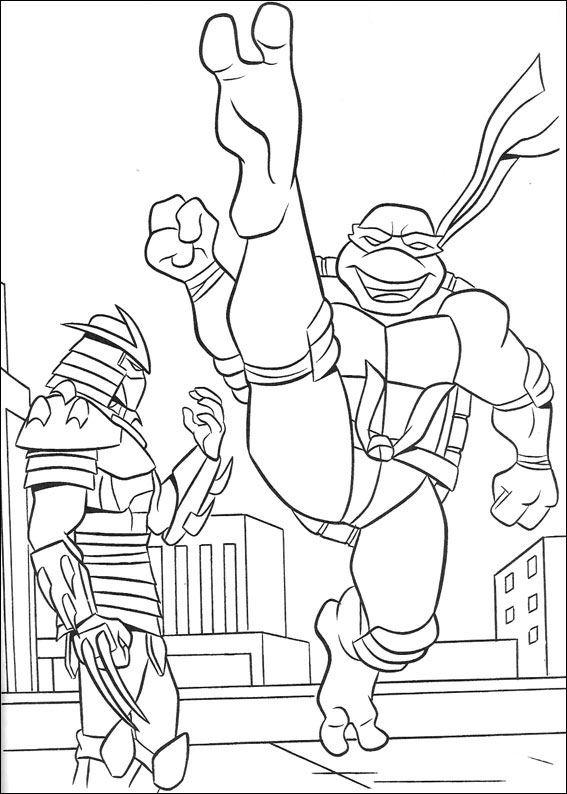Ninja turtles ausmalbilder