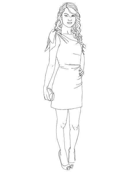 Taylor swift Ausmalbilder | Animaatjes.de