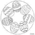 Ostern ausmalbilder