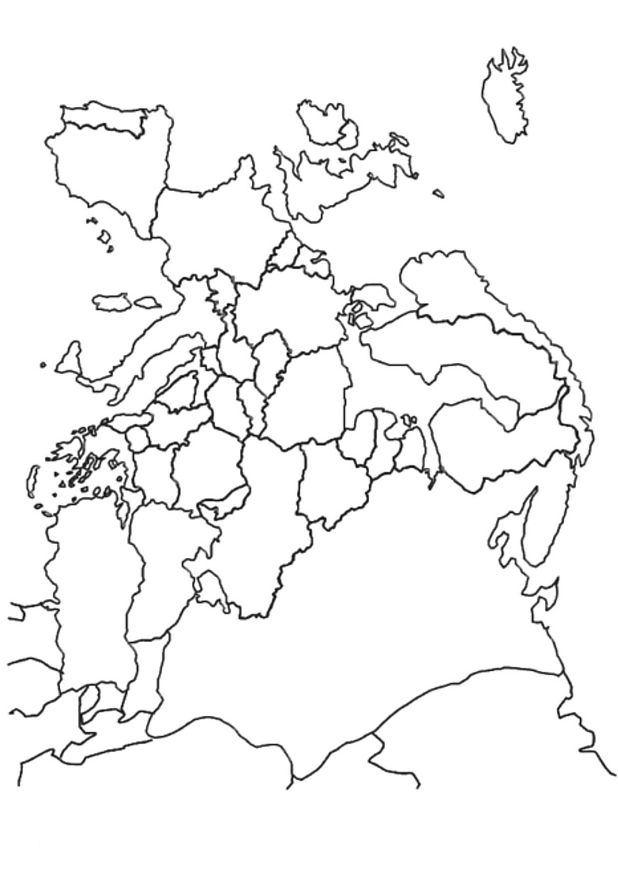 Karten ausmalbilder