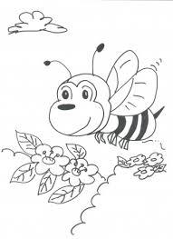 Bienen ausmalbilder