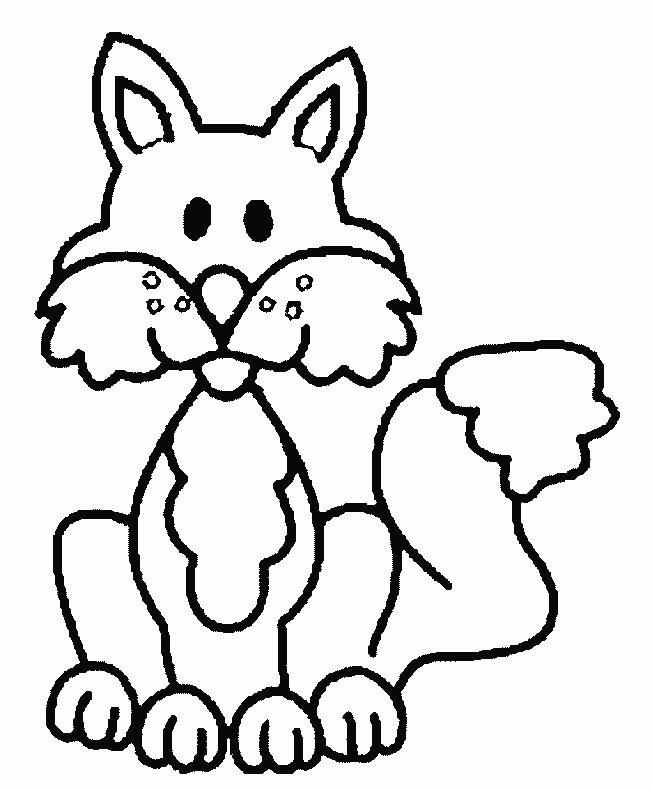 Fuchse ausmalbilder