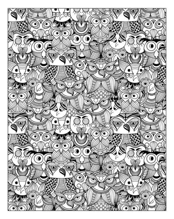 Tiere fur erwachsene ausmalbilder