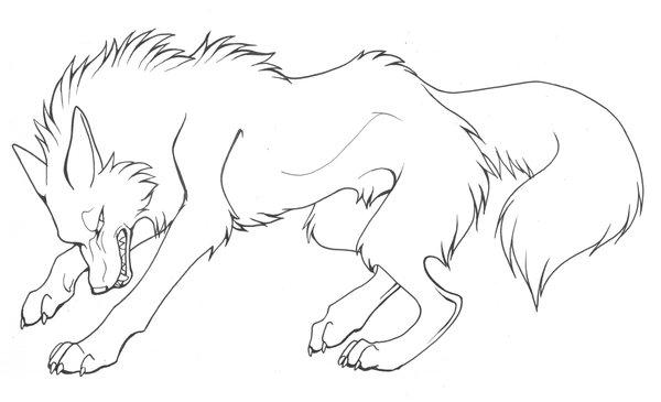 Wolfe ausmalbilder