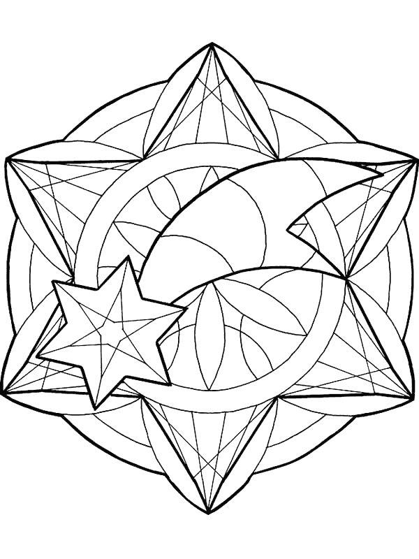 Weihnachten Mandala Ausmalbilder Animaatjes De