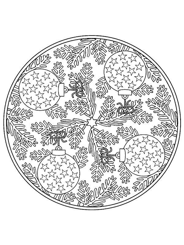 Weihnachten Mandala Ausmalbilder.Malvorlage Weihnachten Mandala Ausmalbilder Uoxb6