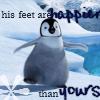 Happy feet avatare