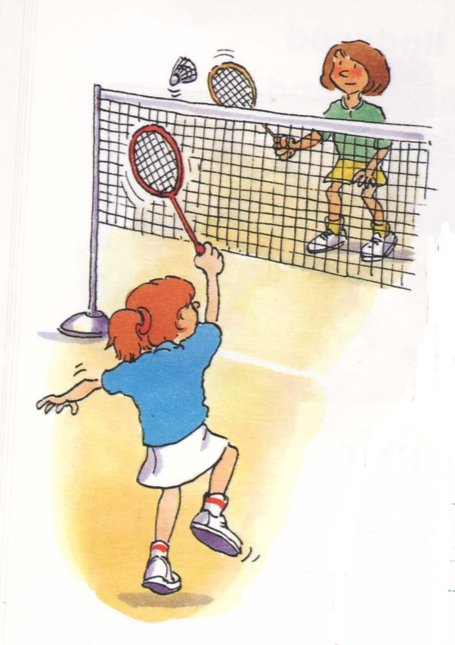 Badminton bilder