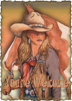 Cowgirl bilder