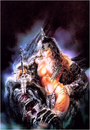 For erotic woman warrior fantasy art