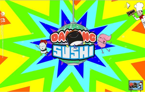 Tanzende sushi bilder