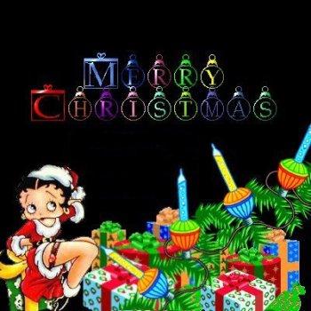Weihnachten betty boop
