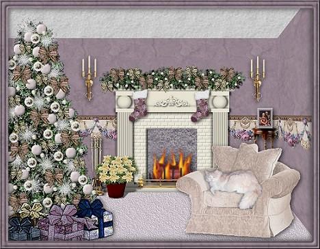 Weihnachten kamin bild   pinkroom