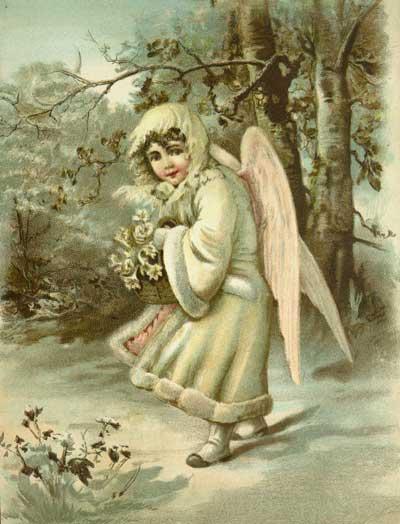 Weihnachten Nostalgisch.Weihnachten Nostalgie Bild 1128719608angel Girl