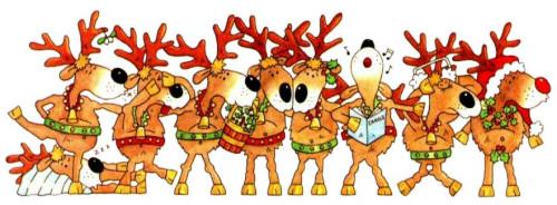 Weihnachten rentier bilder